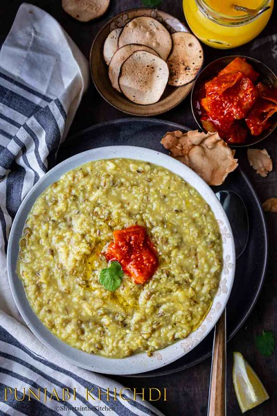 Indian vegan recipes - Punjabi Khichdi