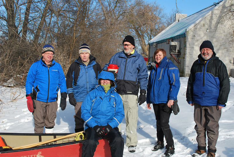 WWCC New Year's Paddle 2013 - Blue Team