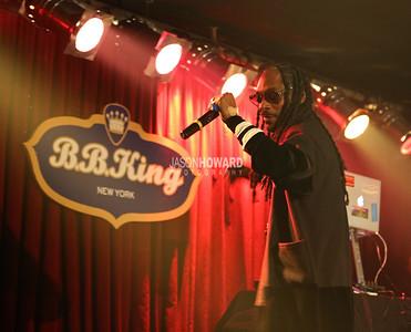 Snoop Dogg Performs @ BB Kings Blues Club, NY 8.18.17