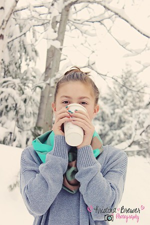 hailey's winter photos