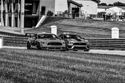 2021 SCCA TNiA Pitt May 20 Adv Red Mustang Wing