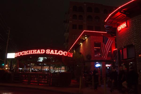 Buckhead Saloon - Friday 10-2-2015