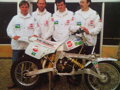 Savard brothers DAKAR Racer 2x2 YZ 490 1989
