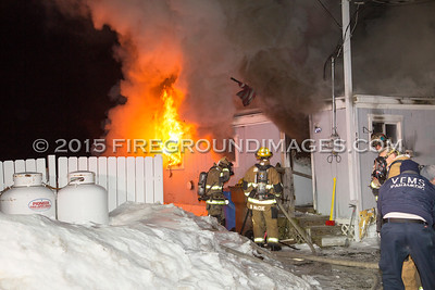 Indian Well Rd. Fire (Shelton, CT) 2/18/15