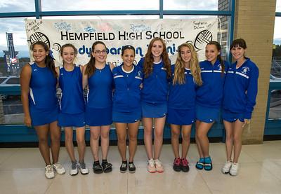 Hempfield Girls Tennis Senior Night