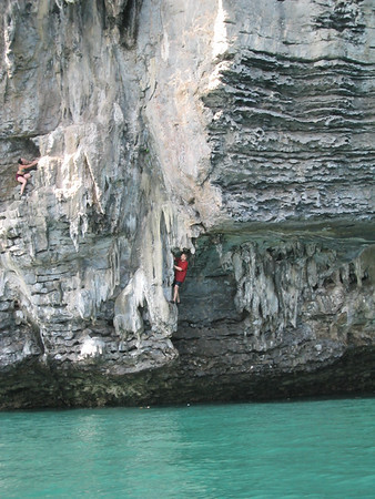 Thailand - Deep Water Soloing