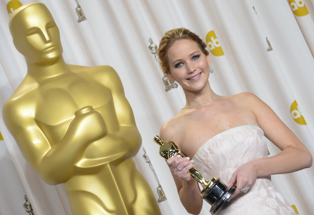 ". <p>34. JENNIFER LAWRENCE <p>Not the first Oscar winner to �s*** your pants.� Just the first one to brag about it on a talk show. <p><b><a href=\'http://gawker.com/your-best-friend-jennifer-lawrence-shat-her-pants-a-tho-1468956168\' target=""_blank\""> HUH?</a></b> <p>    (Joe Klamar/AFP/Getty Images)"