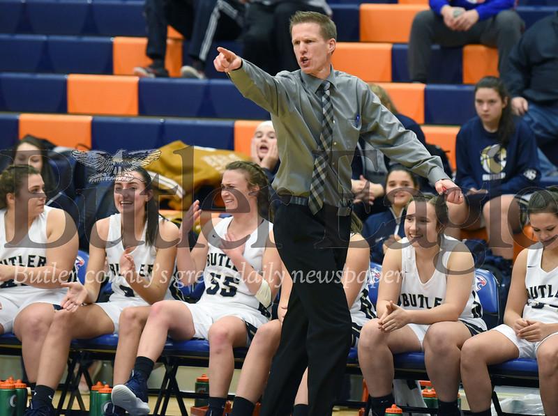 Butler vs West Shamokin Girls basketball at the Armstrong Girls Basketball Tip-Off at Armstrong High School