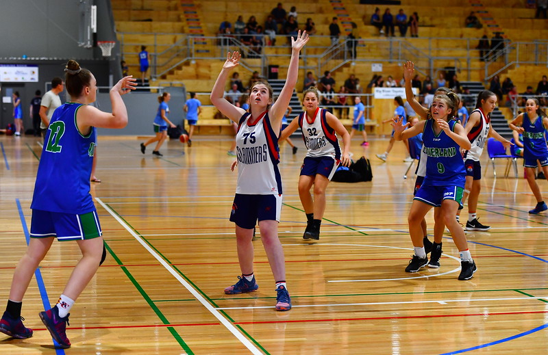"2019 JUNIOR CARNIVAL ""U16"" Girls Div 1 Riverland v Great Southern Slammers"