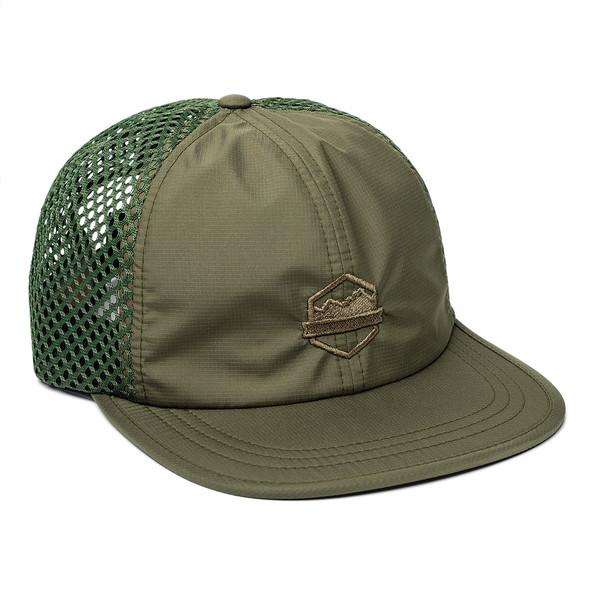 Organ Mountain Outfitters - Outdoor Apparel - Sportswear Headwear - OMO Performance Mesh Cap - Olive Drab.jpg