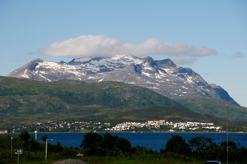 Tromso, Norway - view from airport