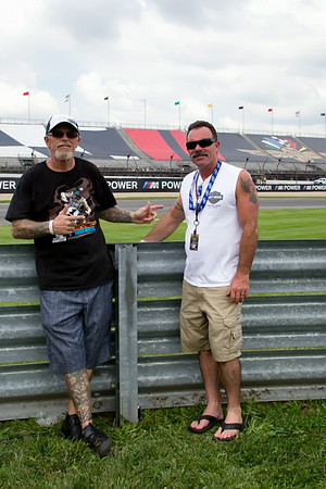 Tattoo Jimmy at the 2014 Indy Moto GP
