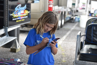 Junior Dragster Pits and Staging Lanes