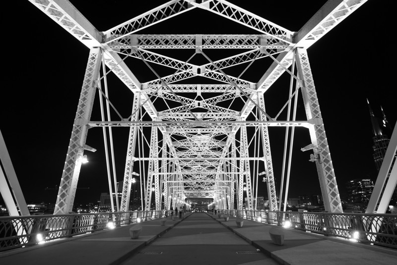Shelby Street Bridge, Nashville, TN