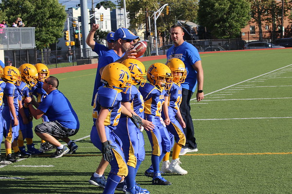 Lyndhurst Peewees at Harrison 9-9-17