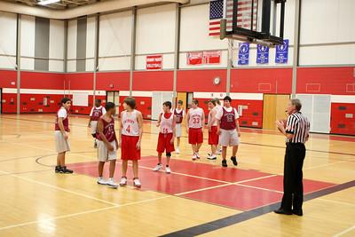 Boys MS Basketball 8B - 2009-2010 - 1/6/2010 Orchard View