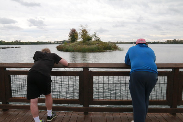 Fishing at Three Oaks Recreation
