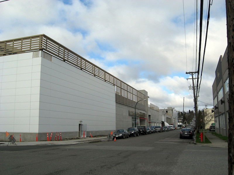 Back corner on Ontario St at 69th Ave looking NW.