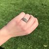 2.10ct Art Deco Peruzzi Cut Diamond Ring, GIA W-X SI2 12