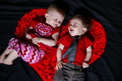 Ella and Harlin Valentines