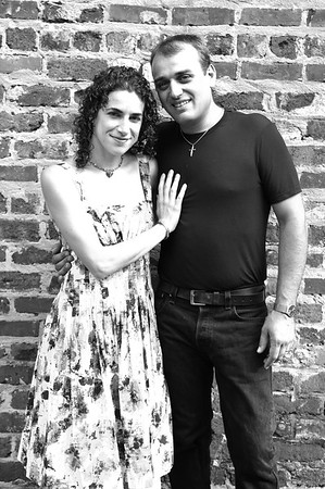 Enrico and Jessica Engaged