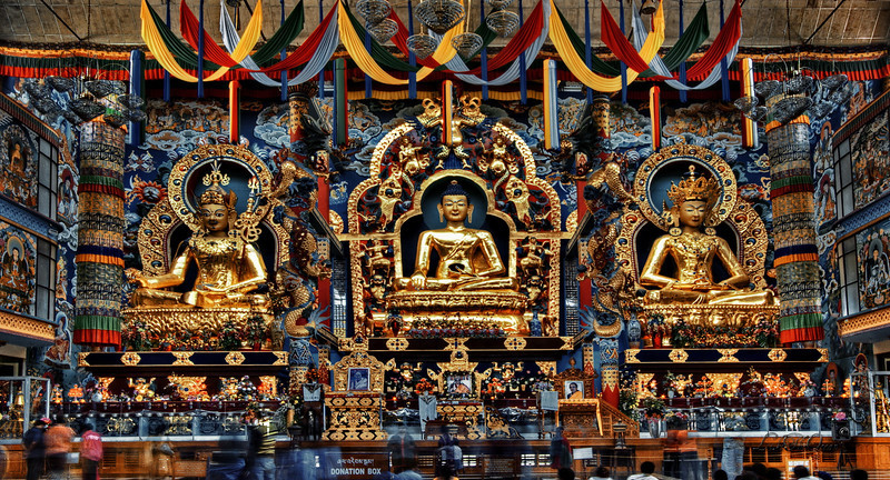 Tibetan Golden Temple @ Coorg