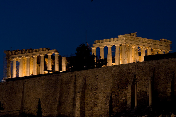 Parthenon, Twilight, Athens 600pix-6513.jpg