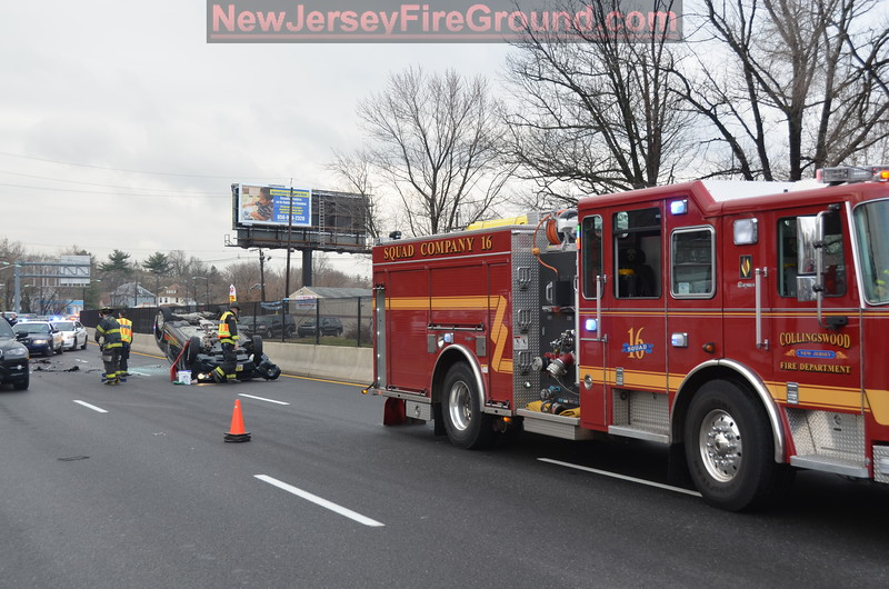 12-23-2011(Camden County)COLLINGSWOOD Rt. 130. Northbound-M.V.A