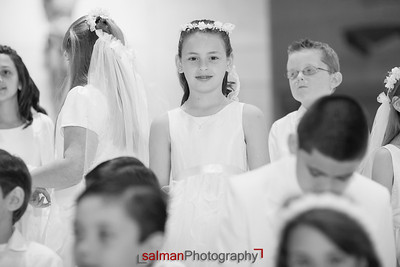Emily and Stephanie's First Communion