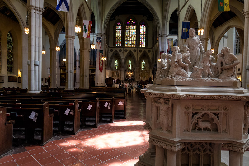 The Font & Nave