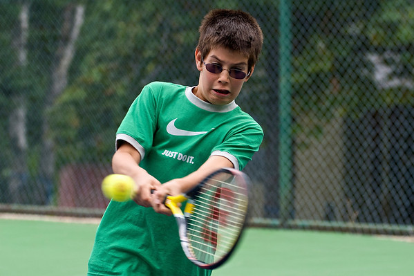 Rossland Jr Tennis Sept 2008