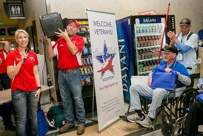 Honor Flight Houston - Homecoming