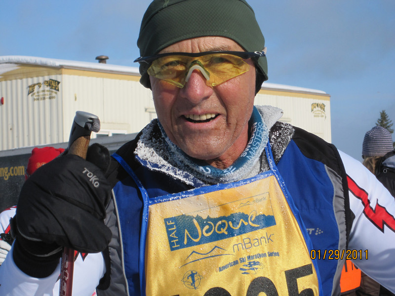 Mike Keenan took his usual 1st in the 70+ age group.