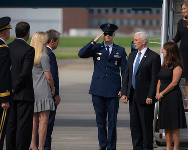 5.29.2020 Greeting Vice President Pence