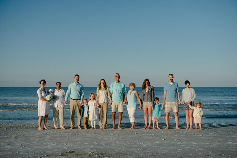Postcard Inn St Pete Beach Family Morning Beach Portraits by Saint Petersburg FL Photographer Kristen Sloan