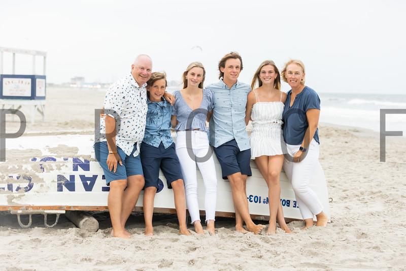 Burns Family Beach Portraits 2021