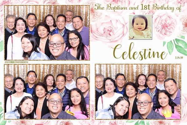 Celestine's Baptism and 1st Birthday