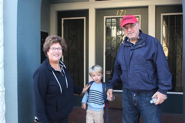 Grandma, Grandpa, and Mimi's visit to SF! October 2014