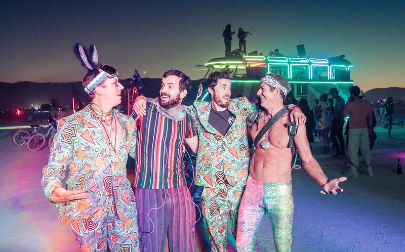 My Roomies at Burning Man