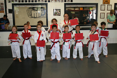 August 27, 2011 Red Belt Testing