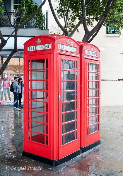 Gibraltar - British style