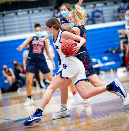 2021 Highlands Ranch vs Chaparral Girls Basketball