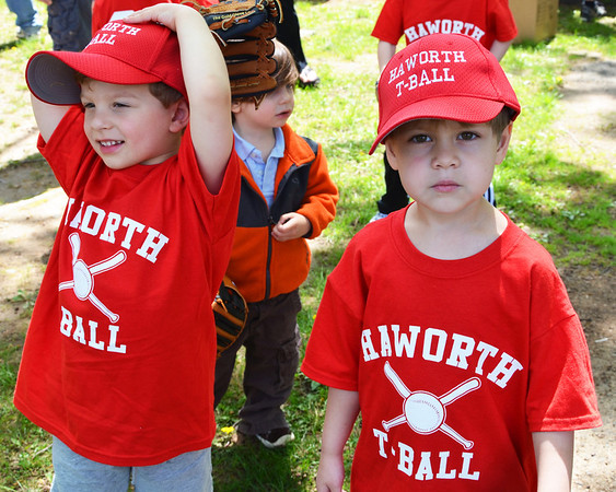 T-ball: first practice