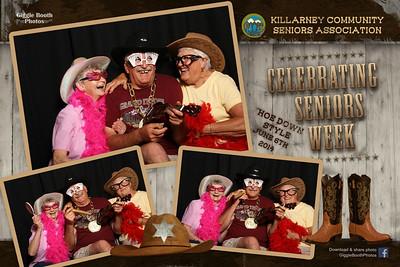 Killarney Seniors Hoe Down