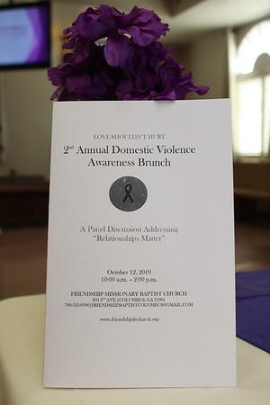 Domestic Violence Brunch Friendship Baptist