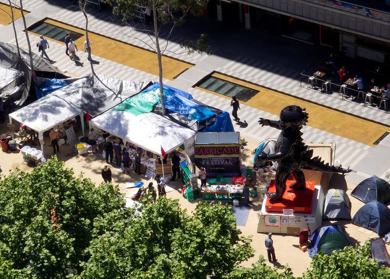 Occupy Melbourne at City Square