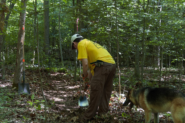 Trail Work with Bonnie and Phil