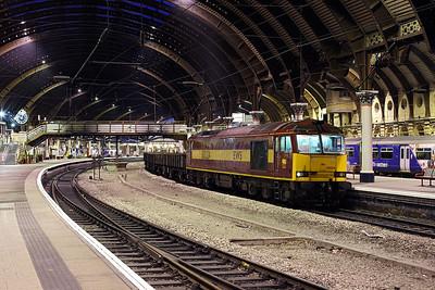 Rails around York station