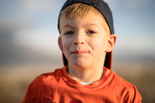 Caleb Portraits in the Bosque