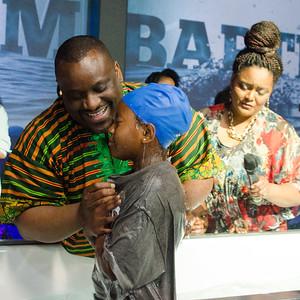 Mahannah and Sarai Baptism